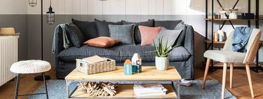 Con la tendencia decorativa Atlantic Coast de Maisons du Monde podremos crear un ambiente casi veraniego y sin salir de casa