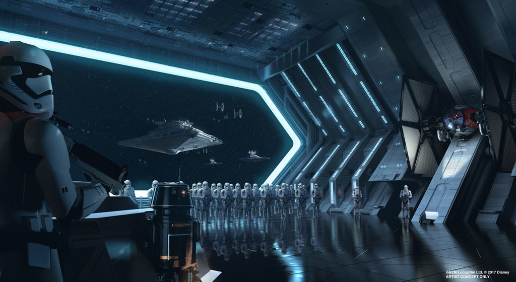 Galaxys Edge Star Destroyer