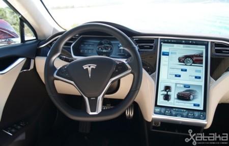 Pantalla táctil consola central Tesla Model S