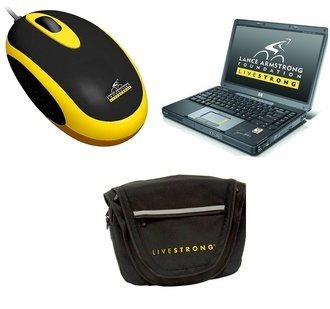 Gadgets hechos por Livestrong y HP