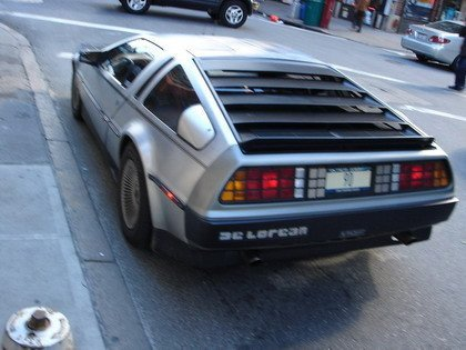Delorean New York