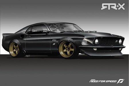 RTR-X Mustang, un adelanto de lo que veremos en el SEMA Show