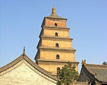 La Gran Pagoda del Ganso Salvaje, en Xi'an