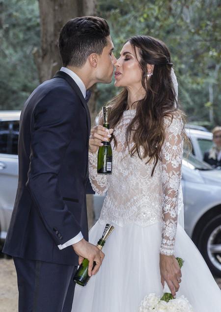 Melissa Jimenez Y Marc Bartra