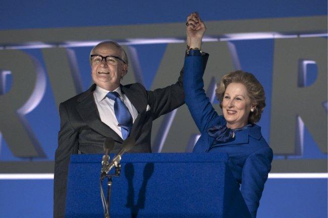 Jim Broadbent y Meryl Streep son marido y mujer en 'La dama de hierro'