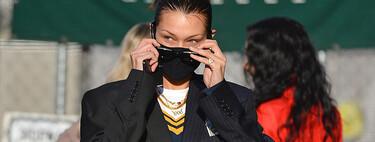 Este es el blazer de Bella Hadid que puedes encontrar (en versión low-cost) en la nueva colección de Bershka