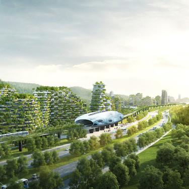Liuzhou Forest City, una ciudad bosque en China con 40.000 árboles y más de un millón de plantas