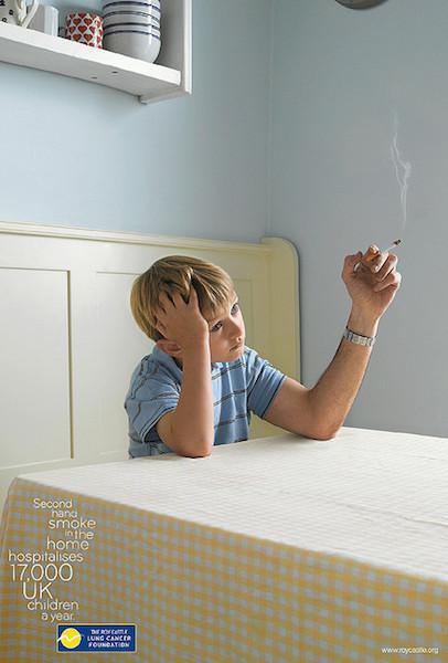 Niños asmáticos que son fumadores pasivos: más riesgo de reingresos hospitalarios