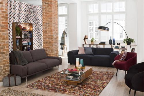 Con toque retro y formas geométricas, así son las tendencias en sofás de Habitat para este otoño