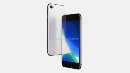 Filtrado el posible diseño del iPhone SE2: muy parecido al iPhone 8 y con TouchID incluido