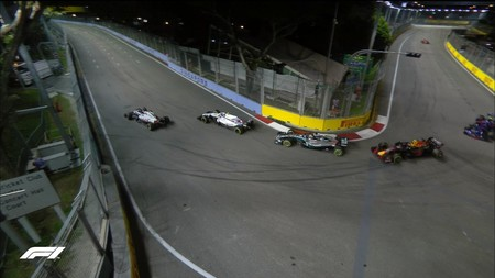 Doblados Hamilton F1