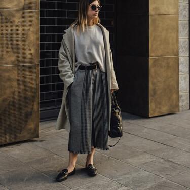 Working girl, boho, casual...siete faldas midi para la oficina para todos los estilos