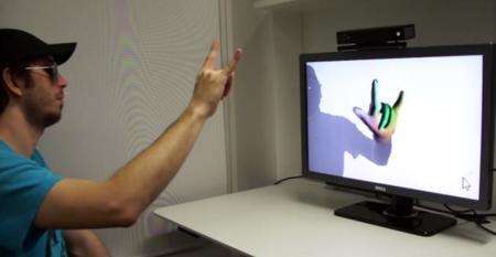 A Kinect no se le escapa un dedo