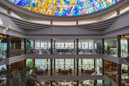 Jardines de Nivaria, un hotel renovado con un marcado estilo Art Nouveau
