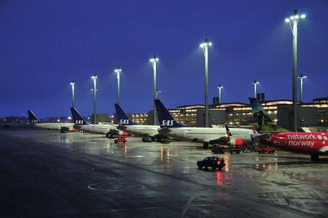 Noruega y Dinamarca cierran otra vez su espacio aéreo por las cenizas del volcán islandés