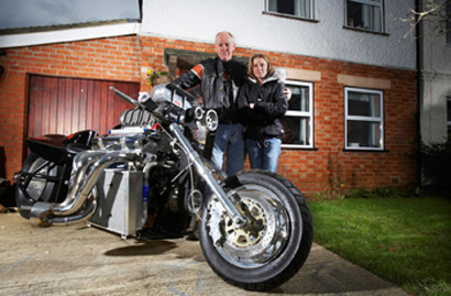 Monsterbike Rapom V8