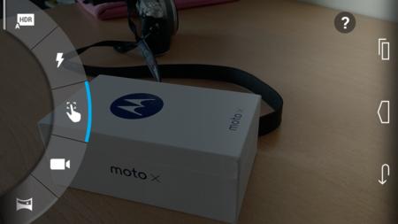 Interfaz Camara Moto X