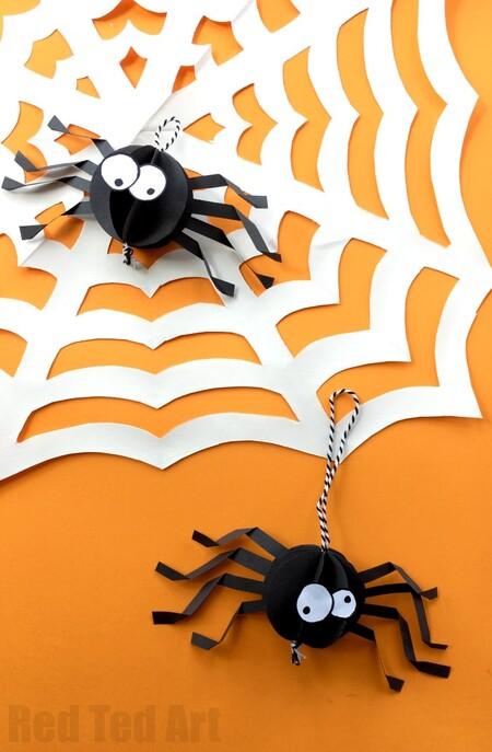 Manualidades Halloween Papel 24