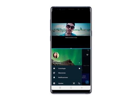One UI pantalla dividida