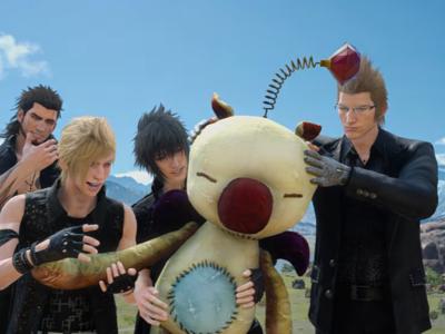 Final Fantasy XV presenta en un nuevo gameplay a los muñecos Moogle