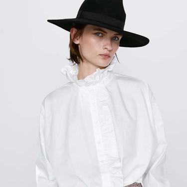 11 camisas con cuello victoriano para sumar a nuestro armario y ganar en estilo este otoño