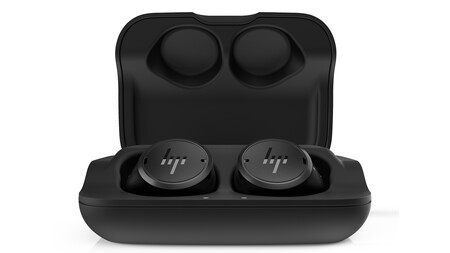 Hp Elite Wireless Earbuds Front Inside Case