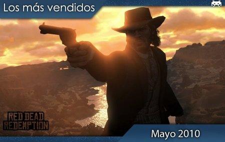 Los juegos más vendidos en España. Mayo 2010