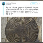 Un hombre encontró un misterioso bolardo en Madrid. Acto seguido, Internet se puso a trabajar