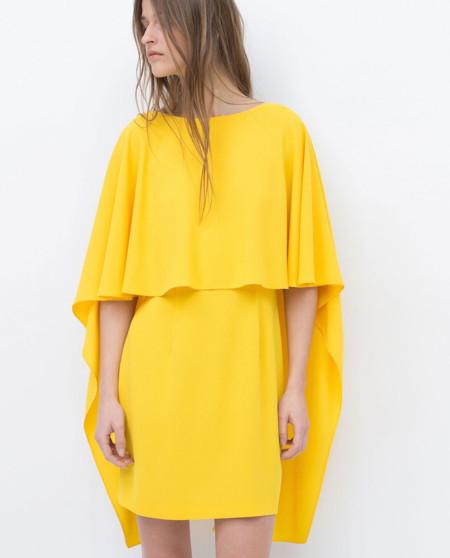Vestido Amarillo Capa