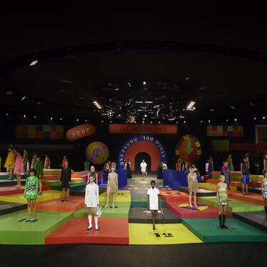 Dior nos muestra su colección más colorida inspirada en un gran tablero de juego: looks ideales de estilo años 60'