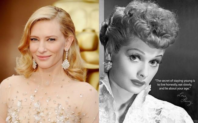 Cate Blanchett y Lucille Ball