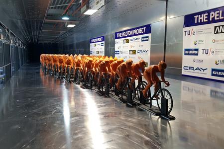 Ciclistas Peloton