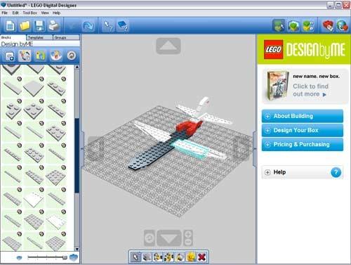 Dise ador virtual de lego for Disenador virtual de habitaciones