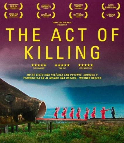 Cartel de The Act of Killing