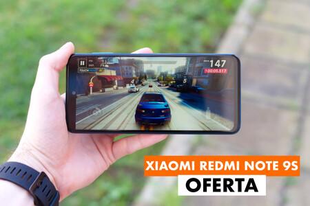 Xiaomi Redmi Note 9S de 64GB más barato que nunca en el Black Friday de AliExpress: 131,51 euros