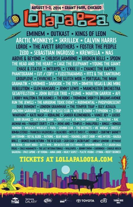 lollapalooza 2014 cartel