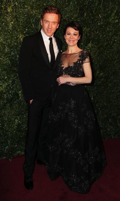 Helen McCrory y Damian Lewis, ¡divis!