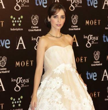 Pues sí, a los Premios Goya también fueron vestidas de colores