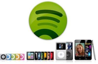 Despídete de iTunes con la nueva versión de Spotify y la sincronización de iPods