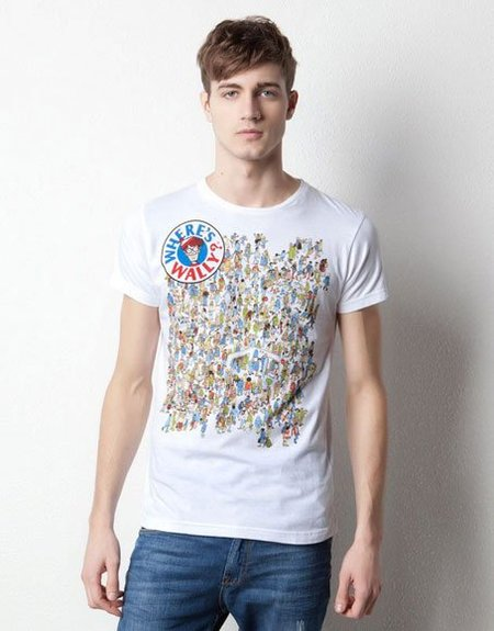 Camiseta ¿Dónde está Wally? de Pull & Bear