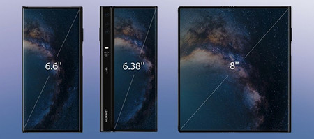 Huawei Mate X Telefono Plegable Flexible