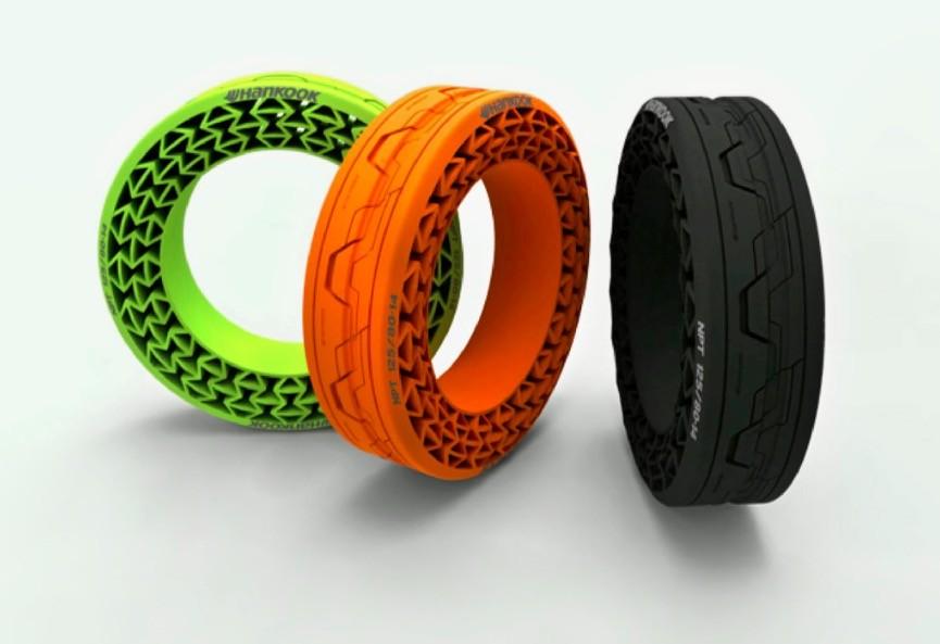 Olvídate de los pinchazos, los neumáticos que no necesitan aire se acercan