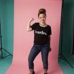 Katie Meade, una modelo trisómica se convierte en embajadora de una marca de productos cosméticos