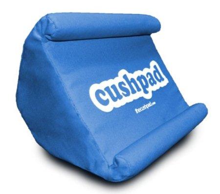 Cushpad, un soporte blandito y achuchable para el iPad 2