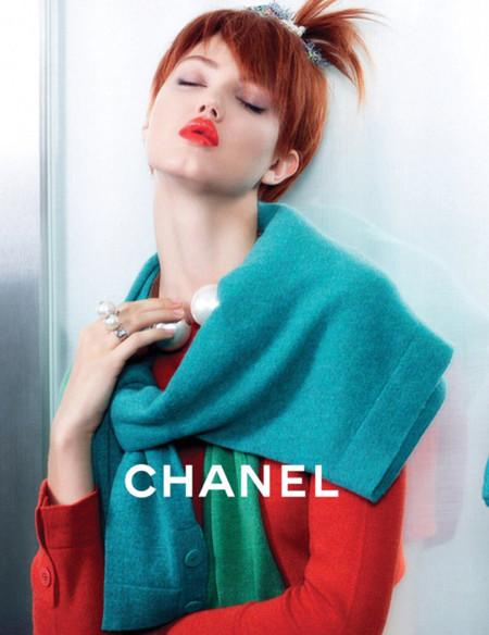Lindsey Wixson Chanel Verano 2014