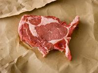 Meat America, un proyecto fotográfico hecho de carne