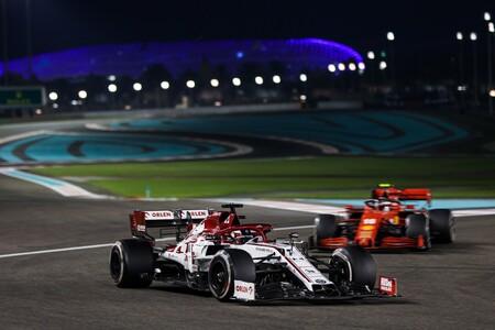 Raikkonen Abu Dabi F1 2020