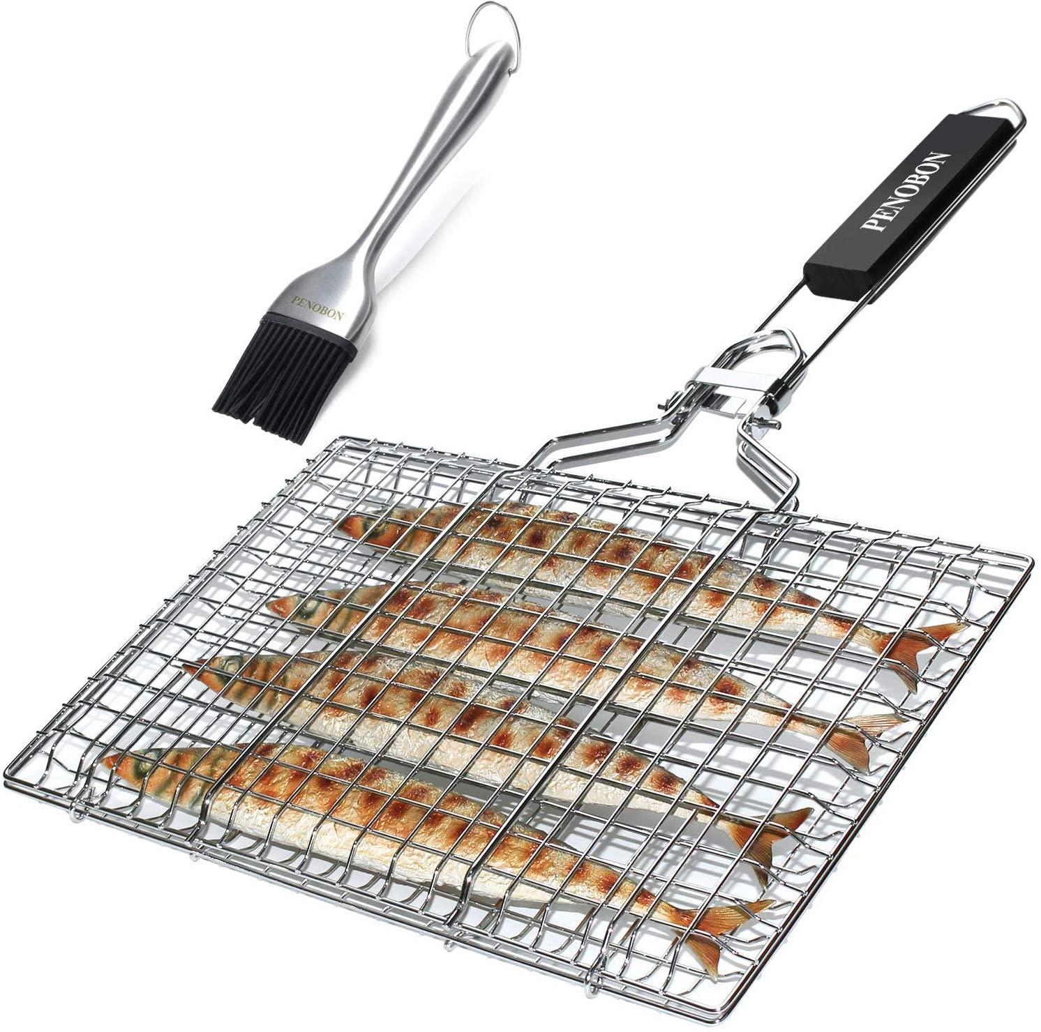 Canasta de asado para pescado