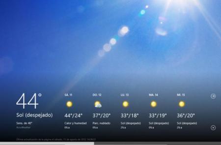 Windows 8 RTM El Tiempo