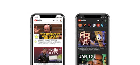 YouTube para iOS finalmente tiene modo oscuro, así puedes activarlo